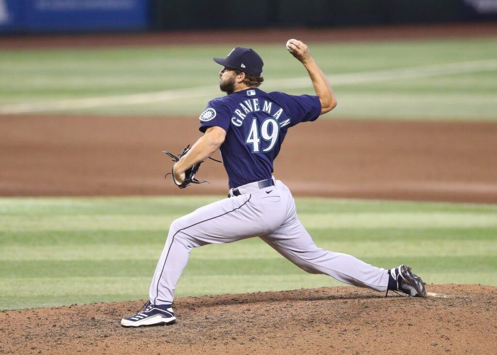 Kendall Graveman pitching