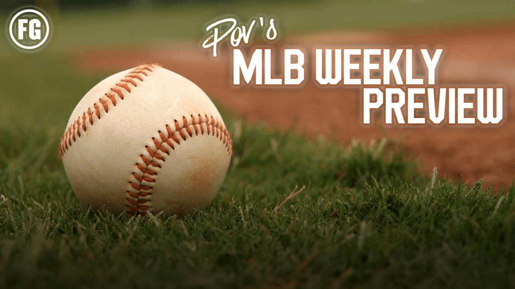 MLB Weekly Preview Main Image